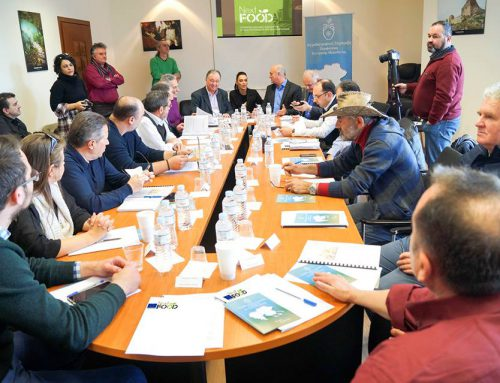 The Agronutritional Cooperation RCM, the American Farm School and the Institute for Employment