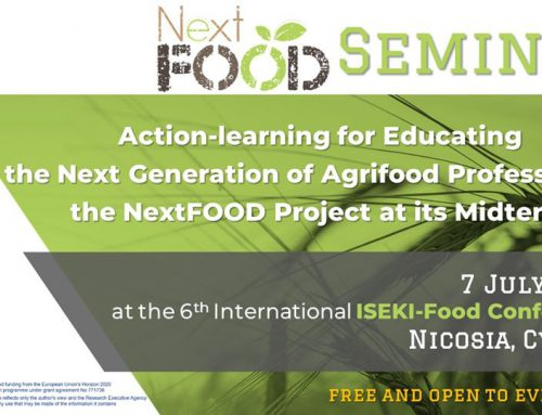 "NextFOOD seminar on ""Action-learning for Educating the Next Generation of Agrifood Professionals: The NextFOOD Project at its Midterm"""