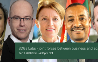 SDGs Labs Panel Discussion